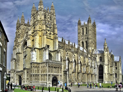 The cathedral city of Canterbury offers history, culture, shopping and dining.