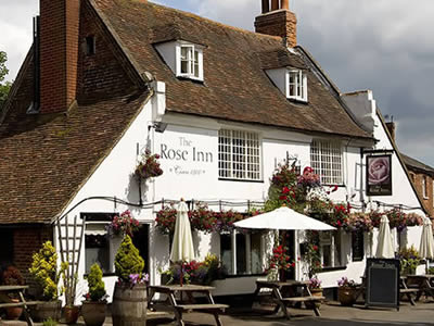 Just inland are plenty of country villages to explore such as Wickhambreaux and its Rose Inn.